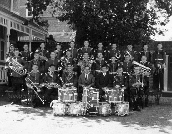 KINGSWOOD COLLEGE BAND 1954