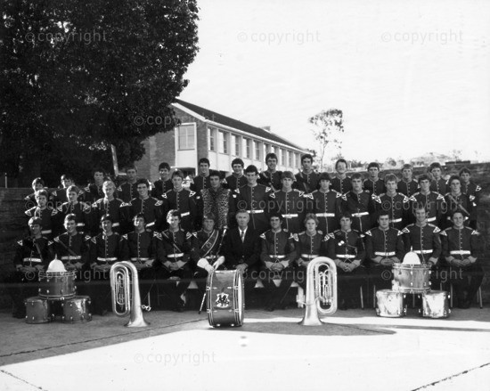 Kingswood College Brass Band 1977