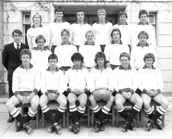 1979 BC Rugby 1st XV whites NIS