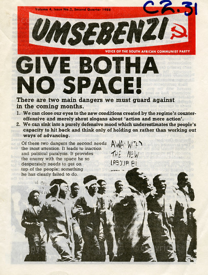 HWC_A1009: Umsebenzi, Vol.4, Issue number 2, 1988
