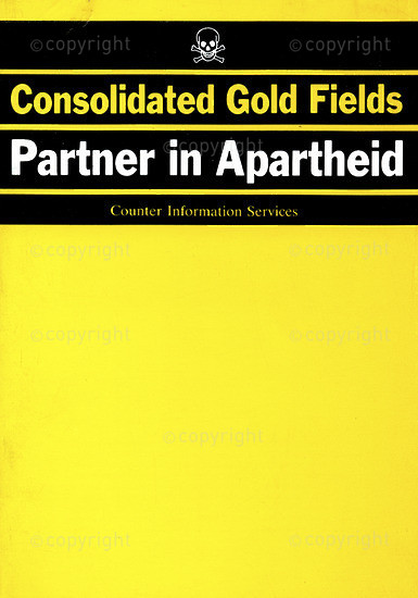 HWC_A3022: Consolidated Gold Fields PLC Partner in Apartheid
