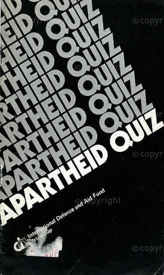 HWC_A3010: Apartheid Quiz