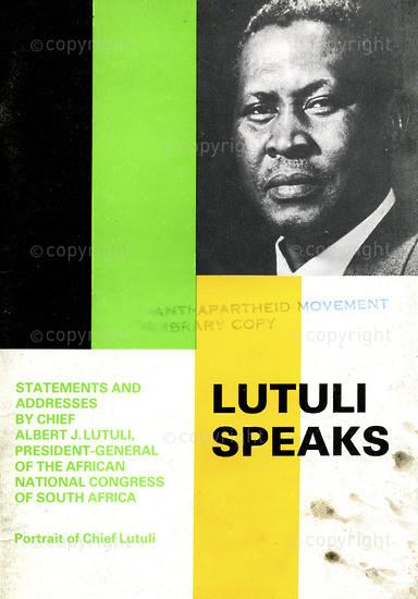 HWC_A3052: Lutuli Speaks