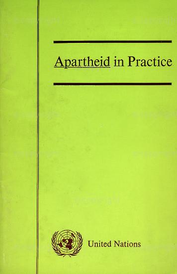 HWC_A3041: Apartheid in Practice