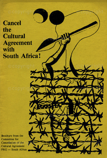 HWC_A3032: Cancel the Cultural Agreement with South Africa !