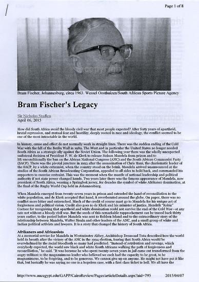 BFC_A3002: Bram Fischer's Legacy