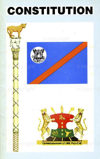 HWC_A3008: Republic of Bophuthatwsana Constitution