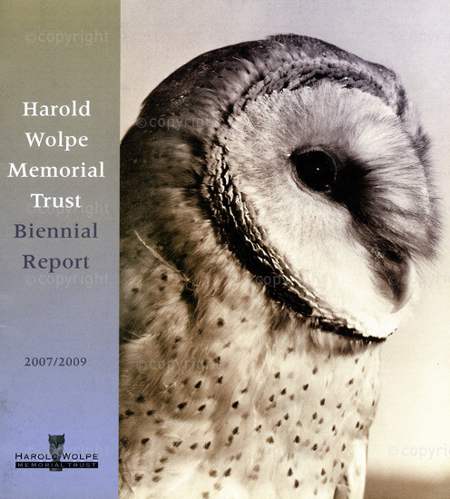 HWC_A3062: Harold Wolpe Memorial Trust Biennial Report 2007/2009