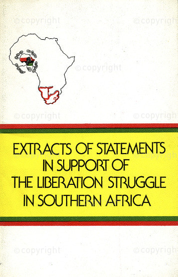 HWC_A3027: Extracts in Support of Liberation Struggle in South Africa