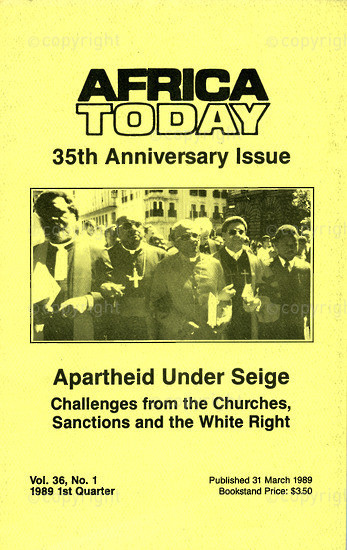 HWC_A3050: Africa Today, Vol.35, Issue Number.1