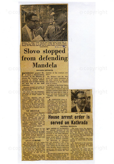 NFC_C1002: Newspaper Clipping: The Rand Daily Mail , 22 October 1962