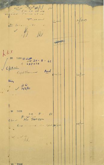 WKC_A1031: Note - James Kantor  Receipts