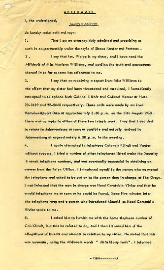 WKC_A1002: Legal Proceedings: James Kantor's Affidavit