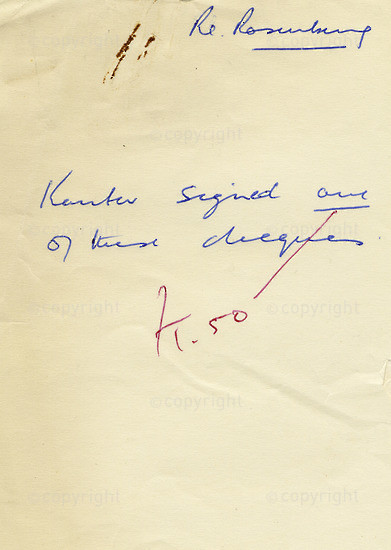 WKC_A1043: Note - James Kantor Papers