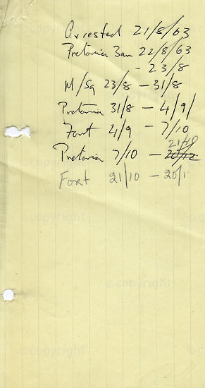 WKC_A2047: Note - James Kantor Papers