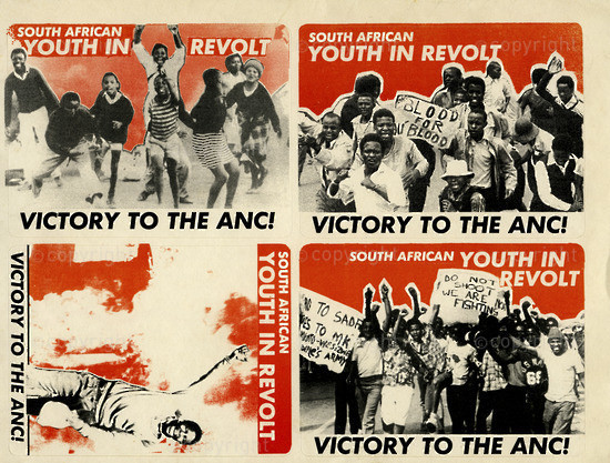 WKC_A2007: South African Youth in Revolt - Victory to the ANC!