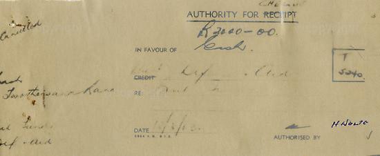 WKC_ A2026: Note - James Kantor  Receipts