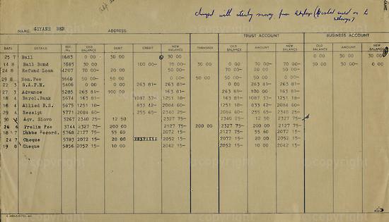 WKC_A2055: Note - James Kantor  Receipts