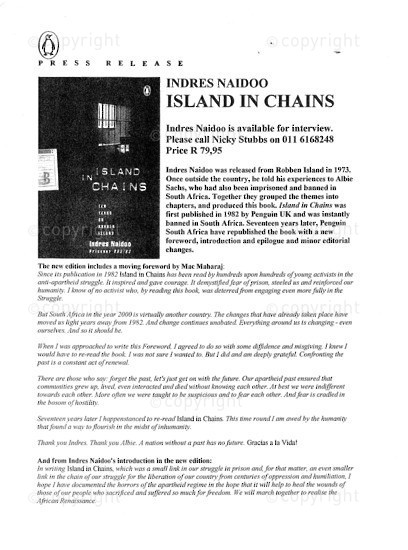 NFC_C1072: Indres Naidoo - Island of Chains