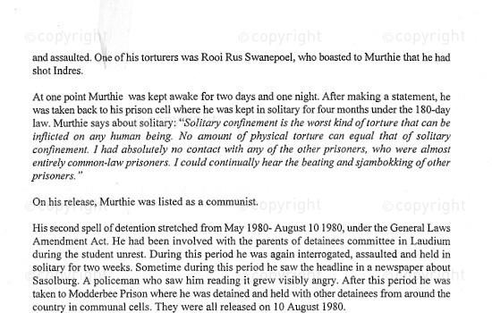 NFC_C1096: Excerpt: Testimony - Murthie Naidoo