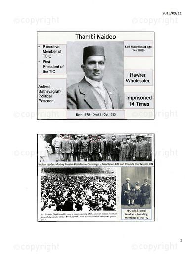 NFC_C1060: Thambi Naidoo's Family History Over 5 Generations