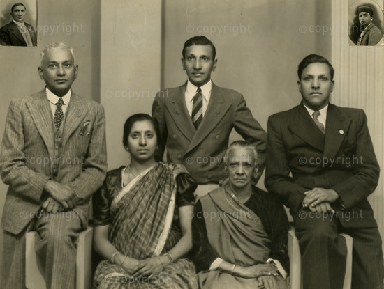 NFC_C1093: Photograph: Thambi Naidoo's Family
