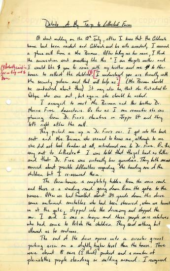 WKC_A1003: Handwritten Biography: James Kantor