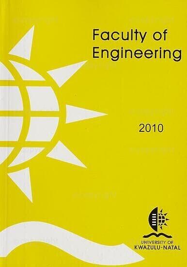 University of KwaZulu-Natal, Faculty of Engineering Handbook 2010