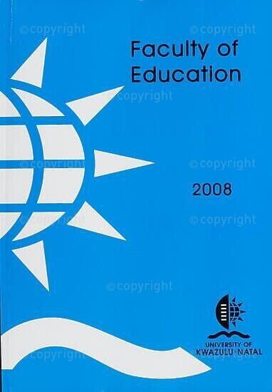University of KwaZulu-Natal, Faculty of Education Handbook 2008
