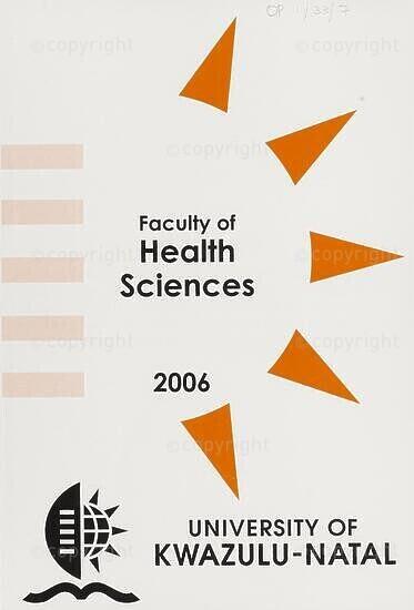 University of KwaZulu-Natal, Faculty of Health Sciences (Westville campus) Handbook 2006