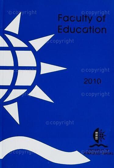 University of KwaZulu-Natal, Faculty of Education Handbook 2010