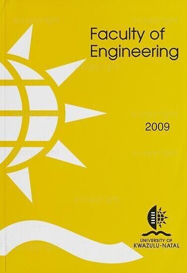 University of KwaZulu-Natal, Faculty of Engineering Handbook 2009