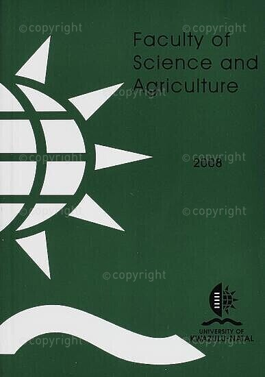 University of KwaZulu-Natal, Faculty of Science and Agriculture Handbook 2008
