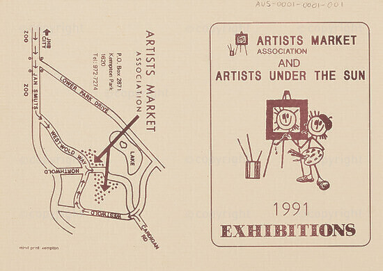 Artists Market Association and Artists Under the Sun 1991 Exhibitions