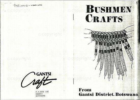 Bushmen Crafts