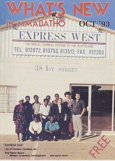 What's New in Mmabatho Oct '93
