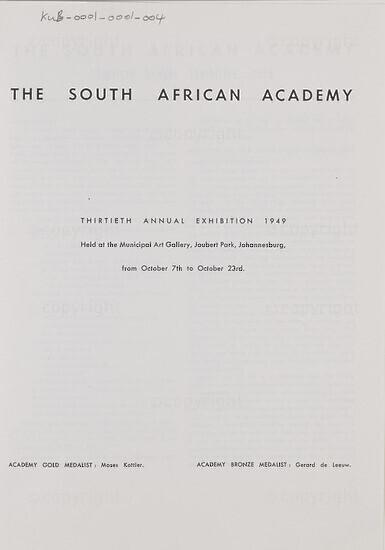 Thirtieth Annual Exhibition 1949