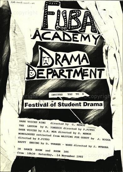 Festival of Student Drama
