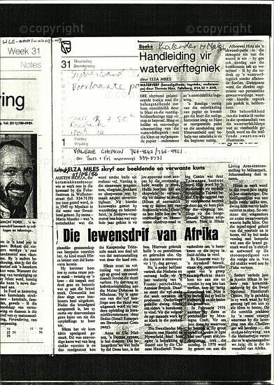 Handleiding vir waterverftegniek / Die lewensdrift van Afrika