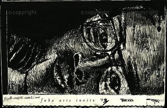 fuba arts invite '93 [and related documents]